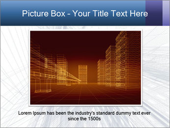 Abstract modern building PowerPoint Template - Slide 15