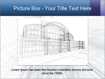 Abstract modern building PowerPoint Template - Slide 16