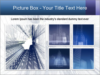 Abstract modern building PowerPoint Template - Slide 19