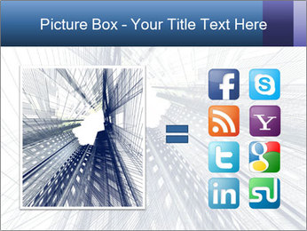 Abstract modern building PowerPoint Template - Slide 21