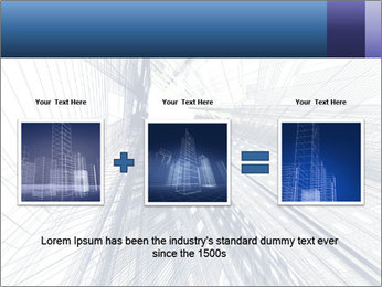 Abstract modern building PowerPoint Template - Slide 22
