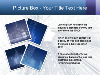 Abstract modern building PowerPoint Template - Slide 23