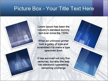 Abstract modern building PowerPoint Template - Slide 24