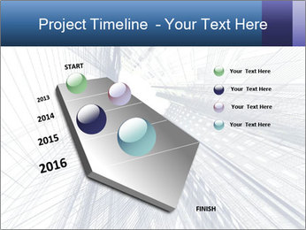 Abstract modern building PowerPoint Template - Slide 26