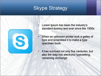 Abstract modern building PowerPoint Template - Slide 8