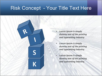 Abstract modern building PowerPoint Template - Slide 81