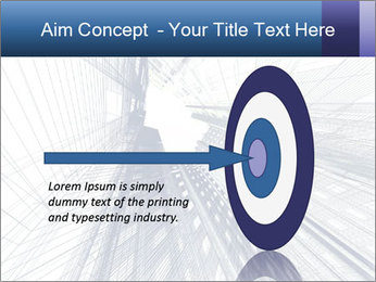 Abstract modern building PowerPoint Template - Slide 83