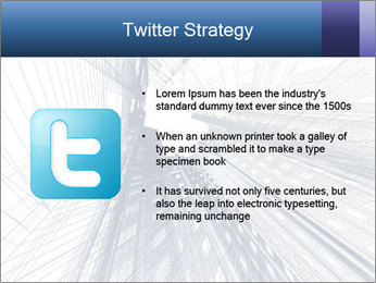 Abstract modern building PowerPoint Template - Slide 9