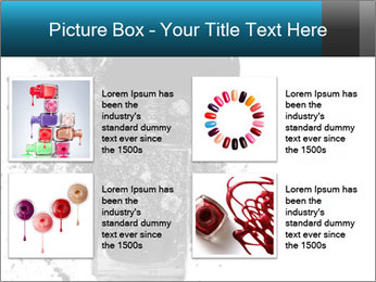 Nail polish with blots PowerPoint Templates - Slide 14