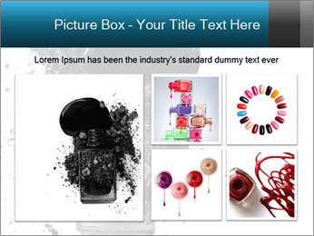 Nail polish with blots PowerPoint Templates - Slide 19