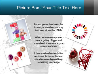 Nail polish with blots PowerPoint Templates - Slide 24