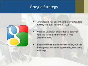 Businesspeople looking PowerPoint Template - Slide 10