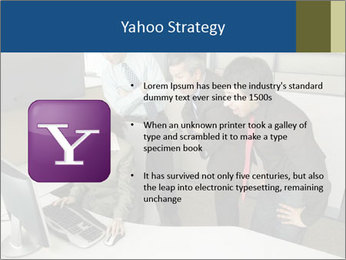 Businesspeople looking PowerPoint Template - Slide 11