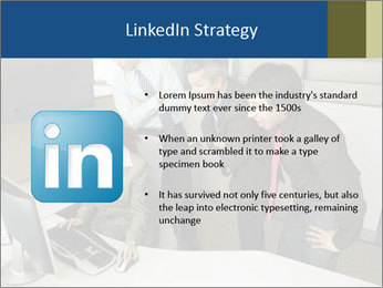 Businesspeople looking PowerPoint Template - Slide 12
