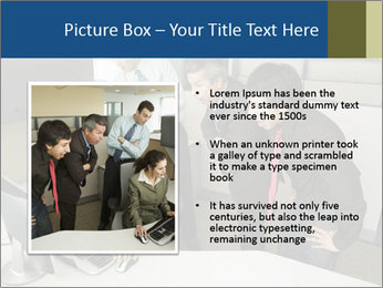 Businesspeople looking PowerPoint Template - Slide 13