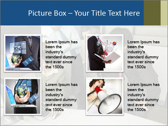 Businesspeople looking PowerPoint Template - Slide 14