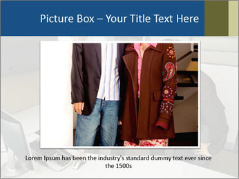 Businesspeople looking PowerPoint Template - Slide 15