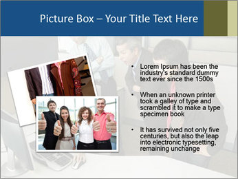 Businesspeople looking PowerPoint Template - Slide 20