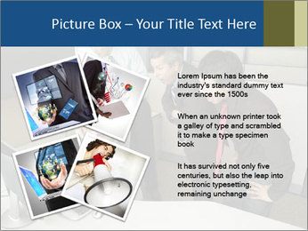 Businesspeople looking PowerPoint Template - Slide 23
