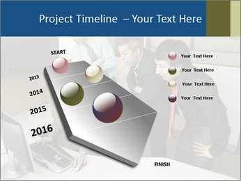 Businesspeople looking PowerPoint Template - Slide 26