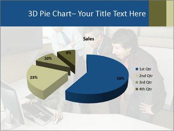 Businesspeople looking PowerPoint Template - Slide 35
