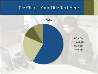 Businesspeople looking PowerPoint Template - Slide 36