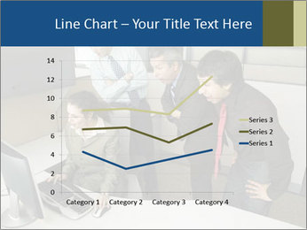 Businesspeople looking PowerPoint Template - Slide 54