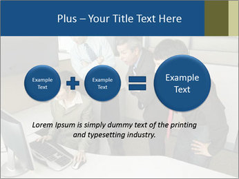 Businesspeople looking PowerPoint Template - Slide 75