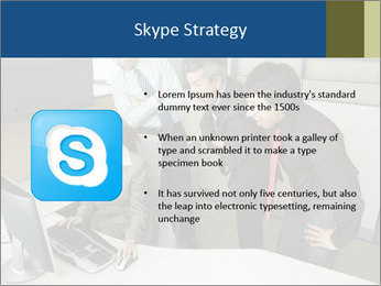 Businesspeople looking PowerPoint Template - Slide 8