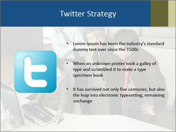 Businesspeople looking PowerPoint Template - Slide 9