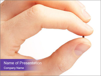 Female hand PowerPoint Templates - Slide 1