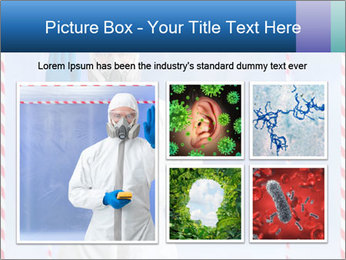 Bio hazard suit PowerPoint Template - Slide 19