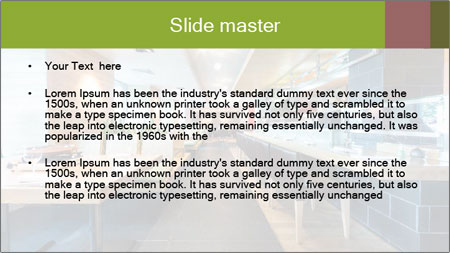 The modern cafe PowerPoint Template - Slide 2