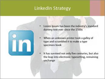 Expressive businessman PowerPoint Template - Slide 12