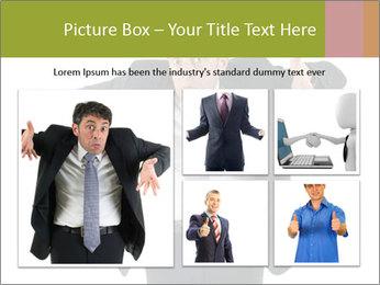 Expressive businessman PowerPoint Template - Slide 19