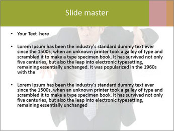 Expressive businessman PowerPoint Template - Slide 2