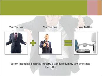 Expressive businessman PowerPoint Template - Slide 22