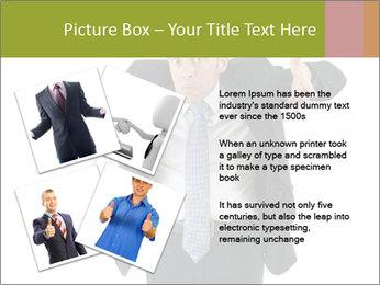 Expressive businessman PowerPoint Template - Slide 23