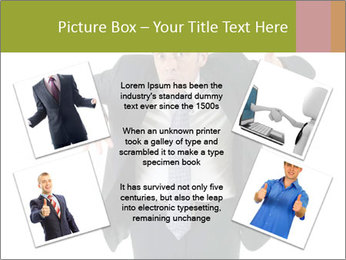 Expressive businessman PowerPoint Template - Slide 24