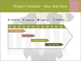 Expressive businessman PowerPoint Template - Slide 25
