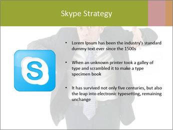 Expressive businessman PowerPoint Template - Slide 8