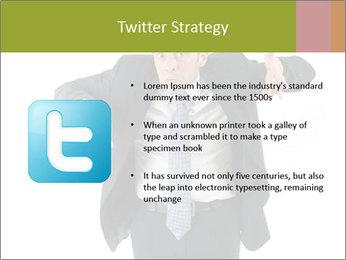 Expressive businessman PowerPoint Template - Slide 9