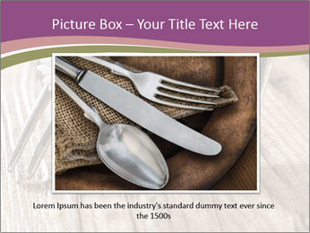 Forks PowerPoint Template - Slide 15