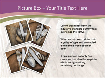 Forks PowerPoint Template - Slide 23