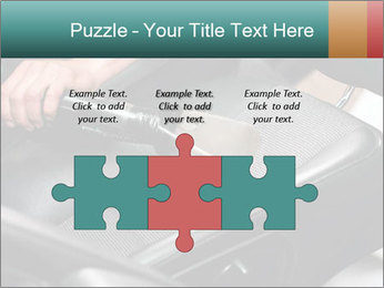 Auto car service cleaning PowerPoint Template - Slide 42