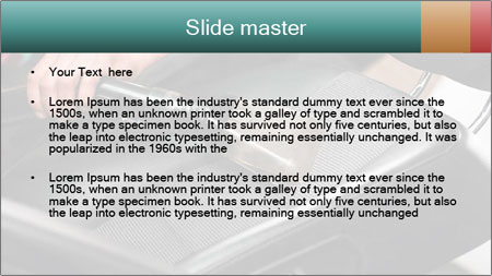 Auto car service cleaning PowerPoint Template - Slide 2