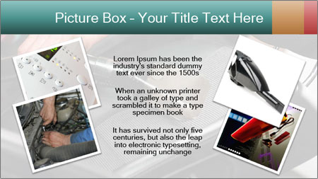 Auto Car Service Cleaning Powerpoint Template Backgrounds Google