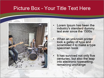 Two guitarists PowerPoint Template - Slide 13