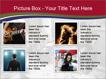 Two guitarists PowerPoint Template - Slide 14