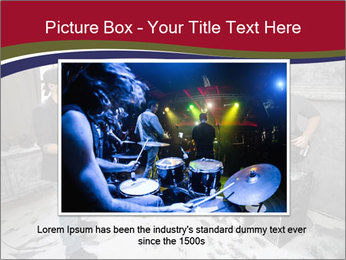 Two guitarists PowerPoint Template - Slide 15